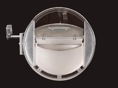 CD(チャッキダンパー)丸型・軸受ボールベアリング式