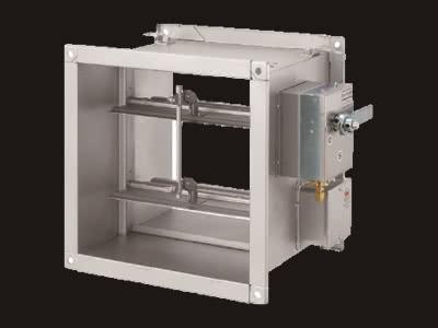 PFD(ガス圧式防火ダンパー)手動復帰式(標準低圧仕様)