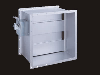 SED-AT型(排煙ダンパー標準気密型) 手動復帰式(標準仕様)