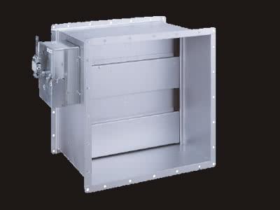 SED-AT型(排煙ダンパー標準気密型) 自動復帰式(標準仕様)
