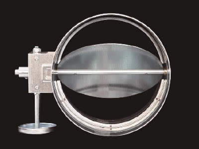 VD(風量調節ダンパー)丸型・ウォーム式