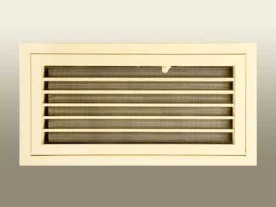 GVS型(縦羽根)風量調節シャッター付/GHS型(横羽根)風量調節シャッター付