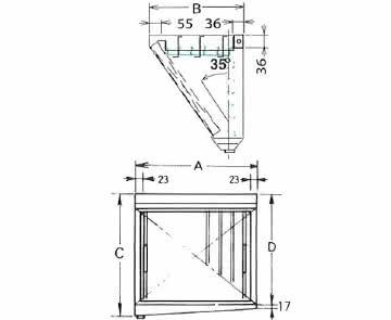 ダブルチェック DCタイプ 片面型 単体