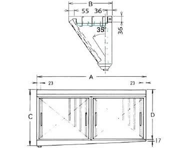ダブルチェック DCタイプ 片面型 2連体
