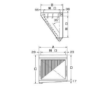 ダブルチェック LLタイプ 片面型 単体